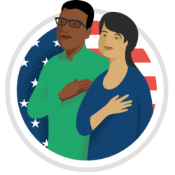 تمرین تست شهروندی ایالات متحده