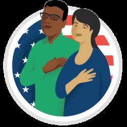 Preparación de prueba de ciudadanía de los Estados Unidos